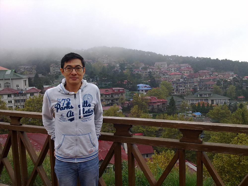 Myself-on-Mt-Lu–Gu-Ling-Mountain-(庐山–牯岭)-2016