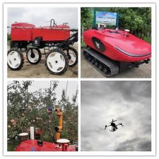 Remote Farming: Driverless Vehicles and Agricultural Robots in China
