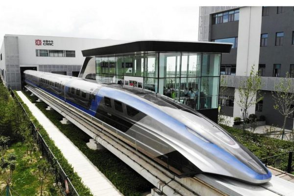 World's fastest train made its debut in China