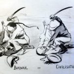 Barbarie, Civilisation, René Georges Hermann-Paul, 1899