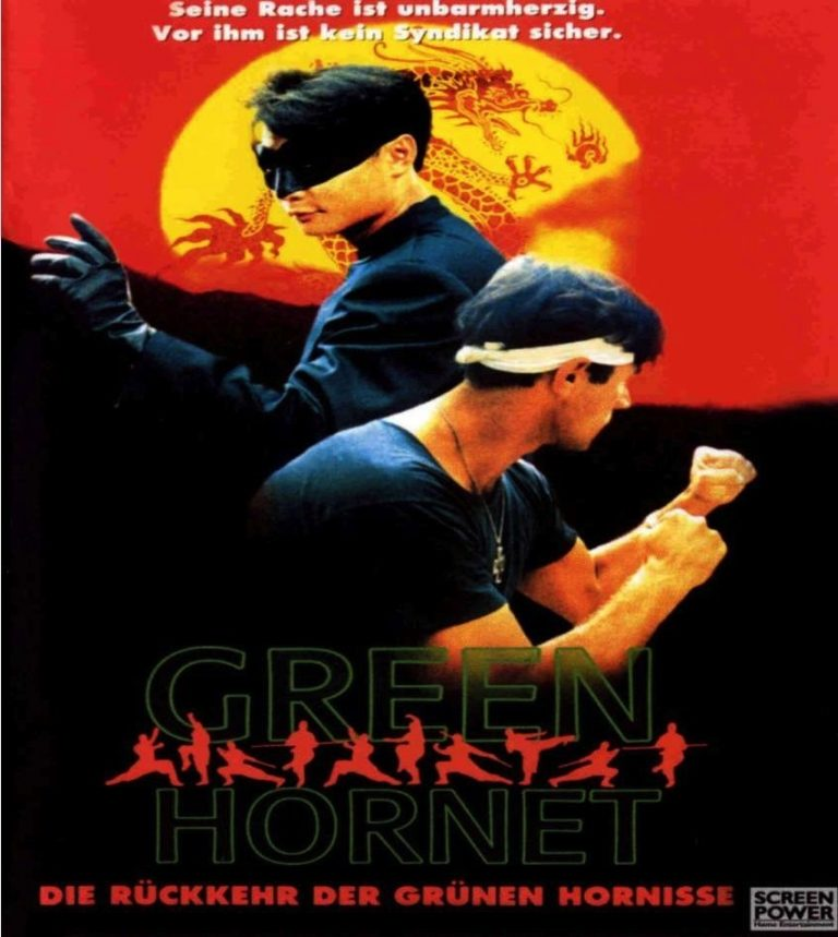 "Poster for the movie ""The Green Hornet"""