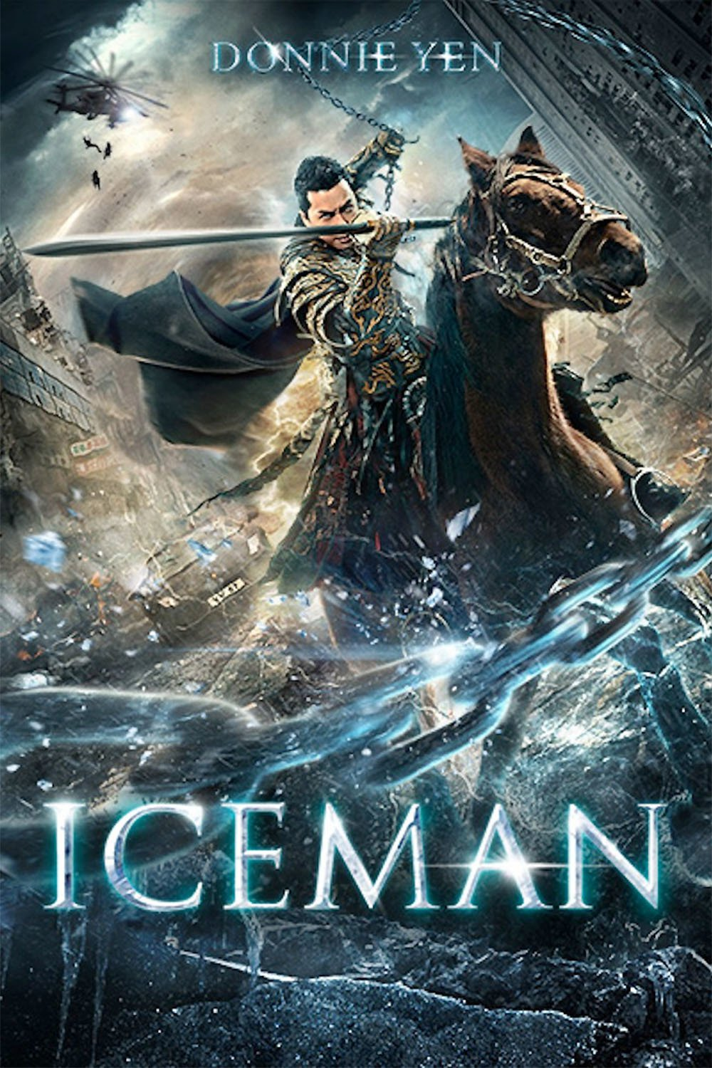 "Poster for the movie ""Iceman"""