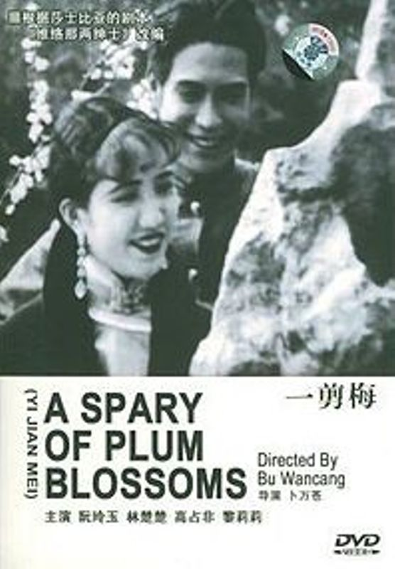"Poster for the movie ""A Spray of Plum Blossoms"""