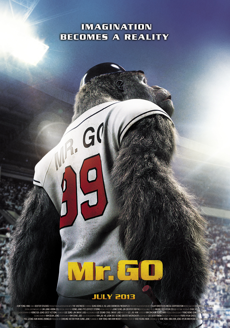"Poster for the movie ""Mr. Go"""