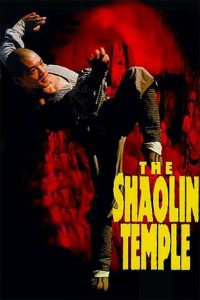"Poster for the movie ""The Shaolin Temple"""