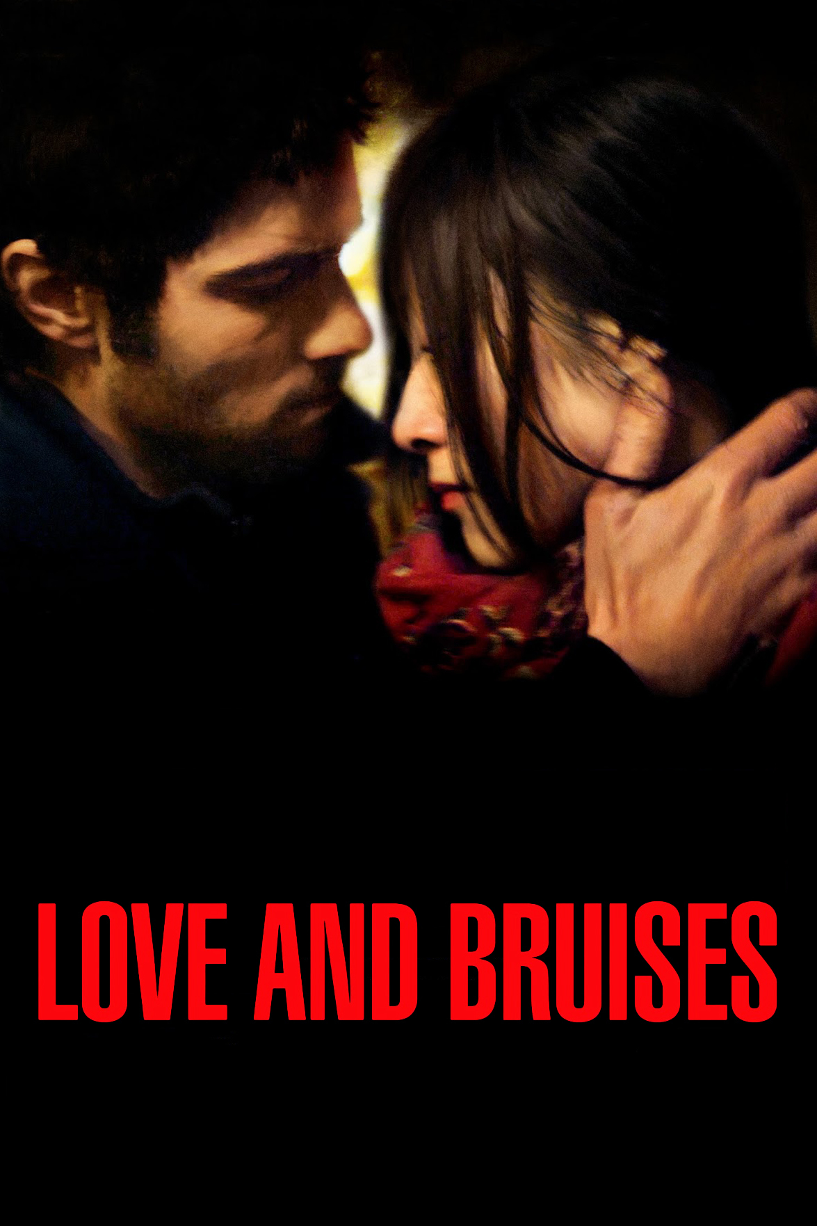 """Poster for the movie """"Love and Bruises"""""""