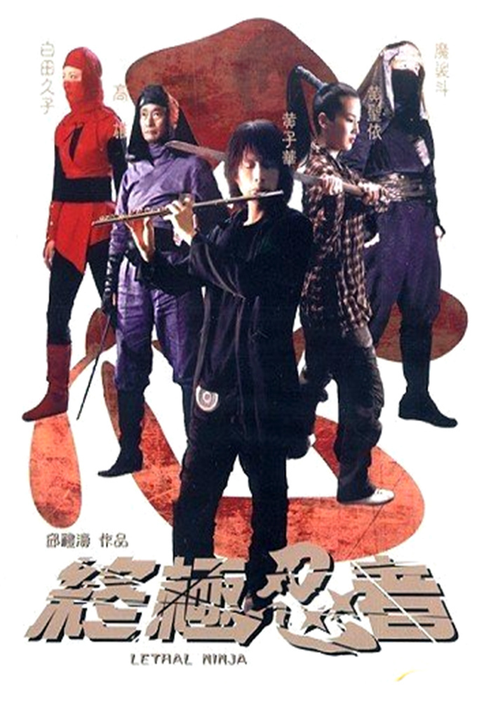 "Poster for the movie ""Lethal Ninja"""