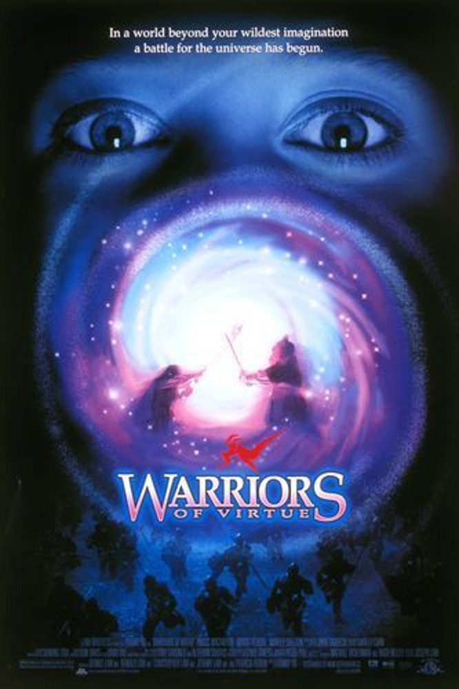 "Poster for the movie ""Warriors of Virtue"""