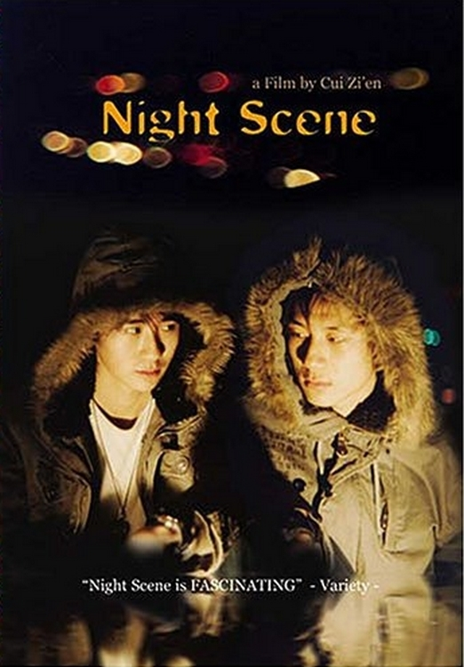 "Poster for the movie ""Night Scene"""