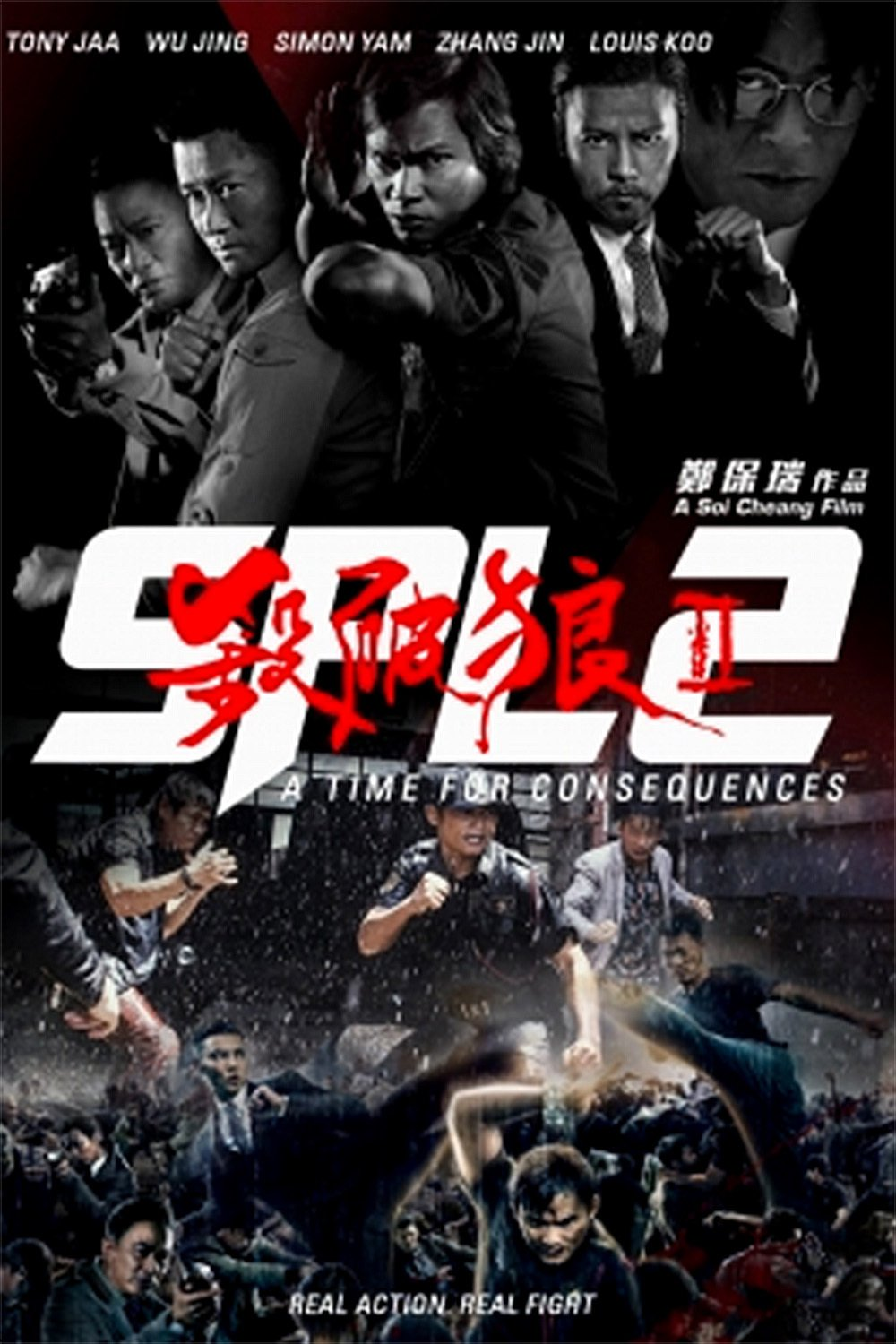 "Poster for the movie ""SPL 2: A Time for Consequences"""