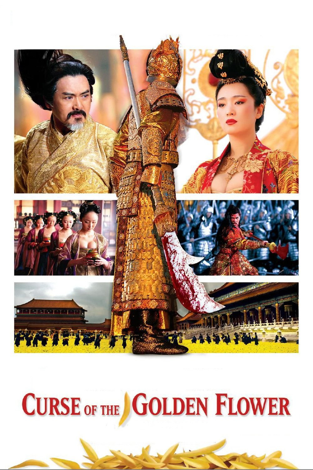Pemain film curse of the golden flower