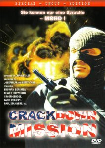 "Poster for the movie ""Crackdown Mission"""