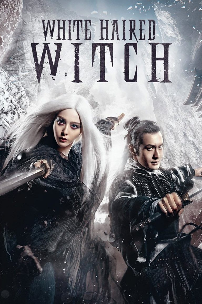 "Poster for the movie ""The White Haired Witch of Lunar Kingdom"""