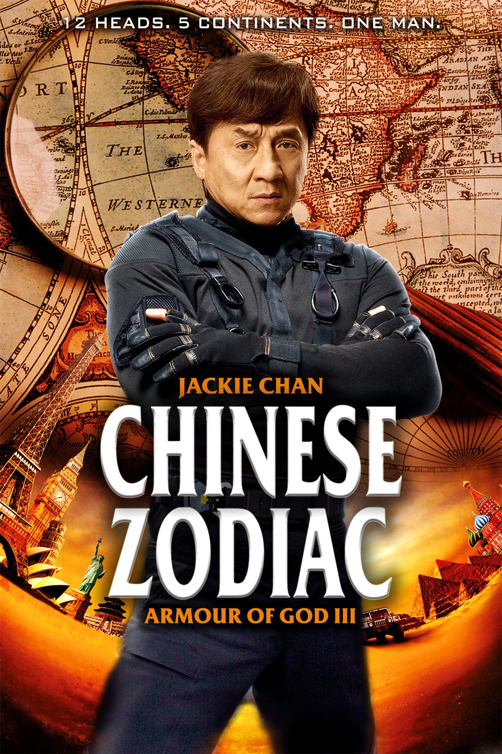 "Poster for the movie ""Chinese Zodiac"""