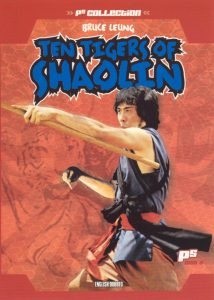 "Poster for the movie ""Ten Tigers of Shaolin"""
