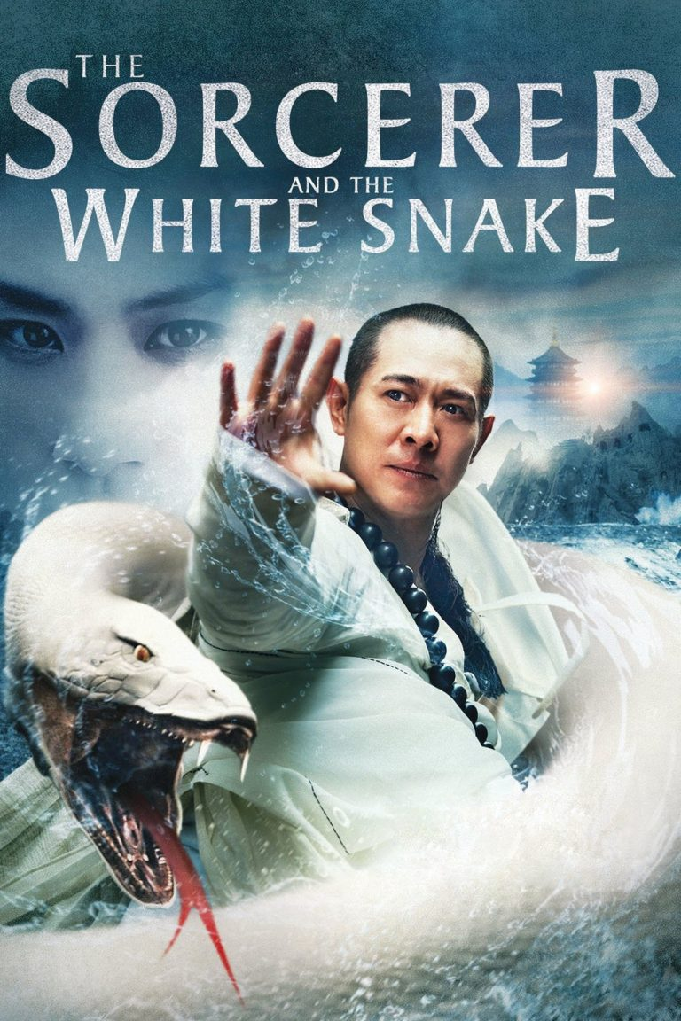 "Poster for the movie ""The Sorcerer and the White Snake"""