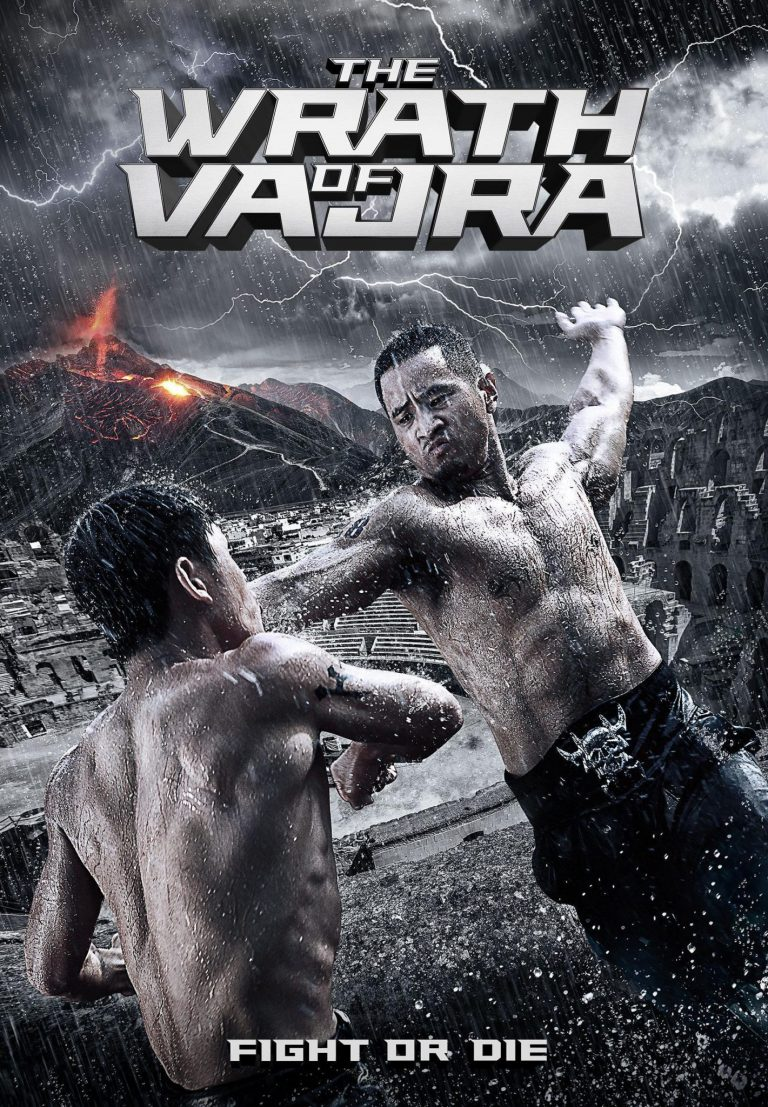 "Poster for the movie ""The Wrath Of Vajra"""