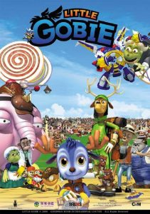 """Poster for the movie """"Little Gobie"""""""