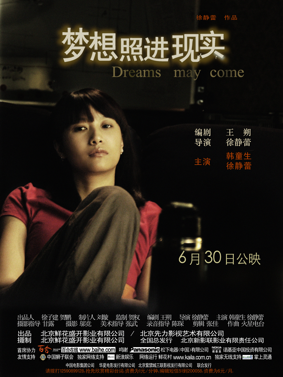 "Poster for the movie ""Dreams May Come"""