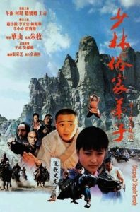 "Poster for the movie ""Disciples Of Shaolin"""
