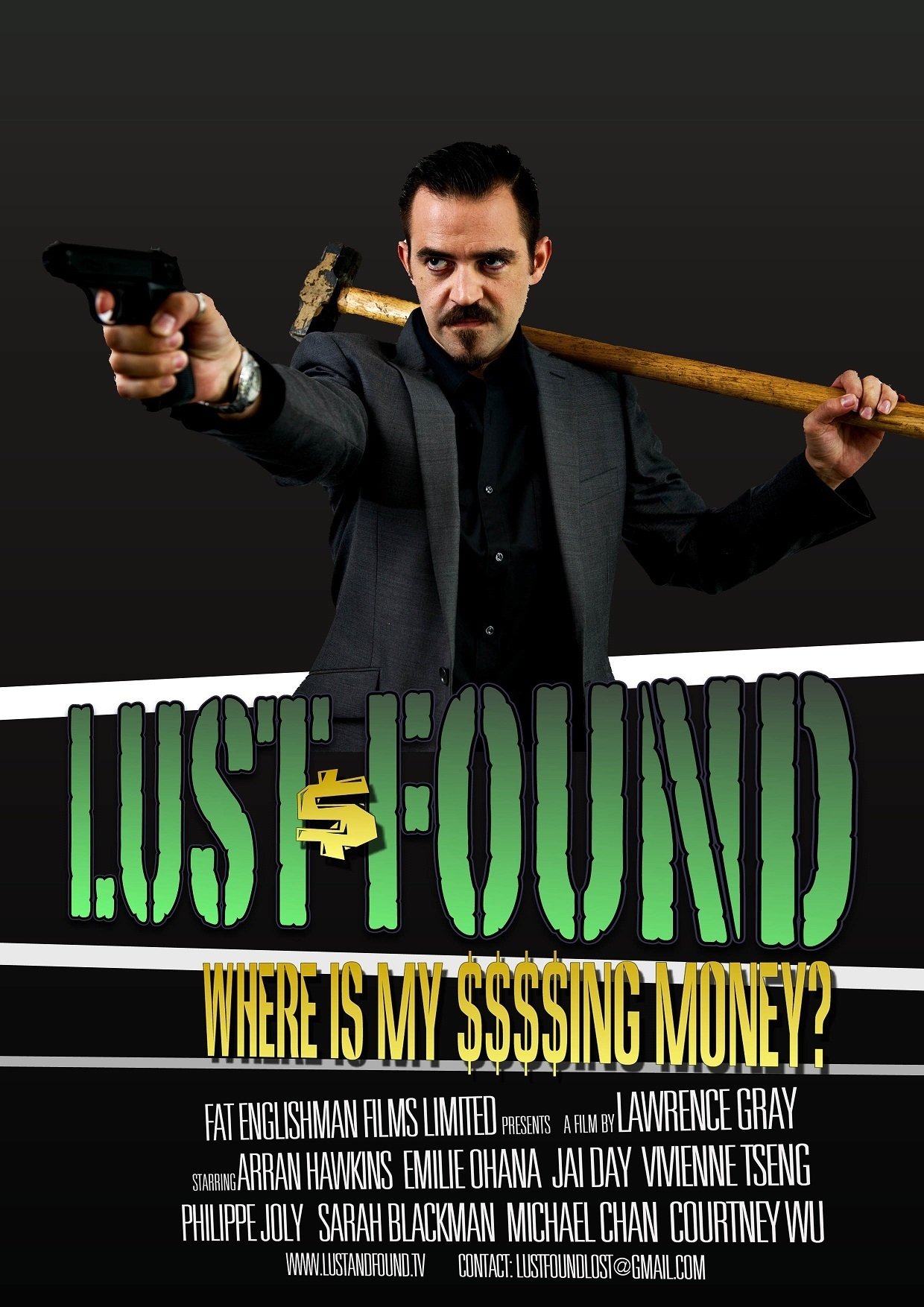 "Poster for the movie ""Lust and Found"""