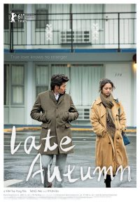 "Poster for the movie ""Late Autumn"""