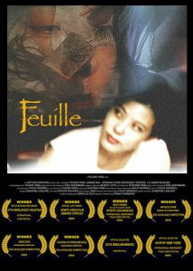 "Poster for the movie ""FEUILLE"""