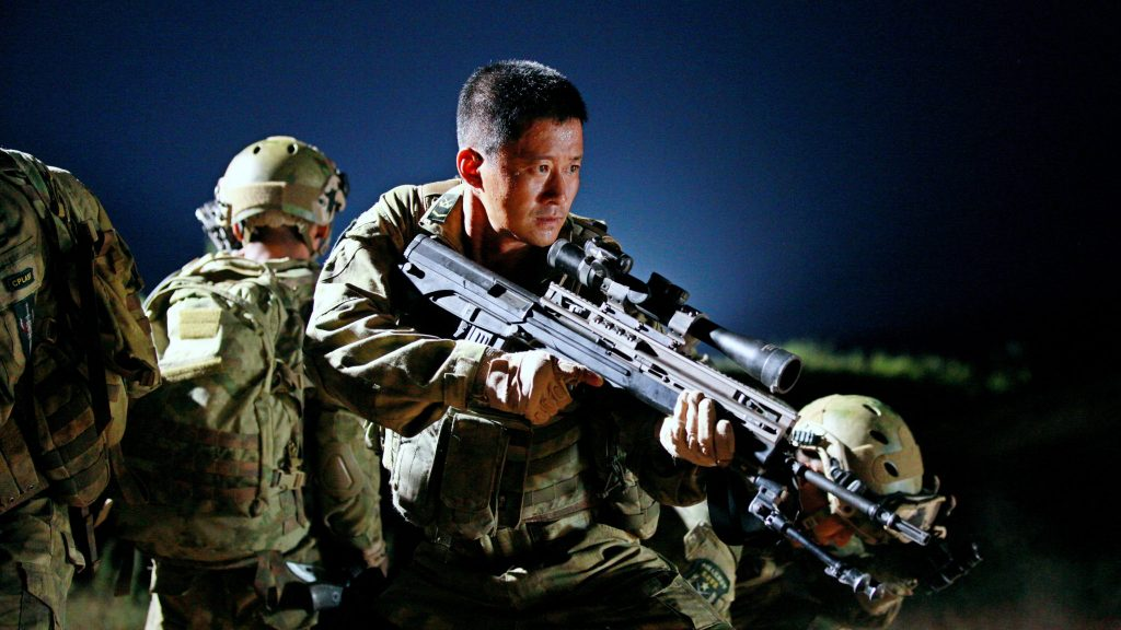 "Image from the movie ""Wolf Warrior"""