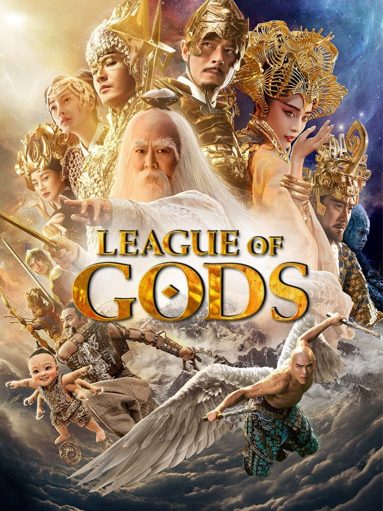 "Poster for the movie ""League of Gods"""