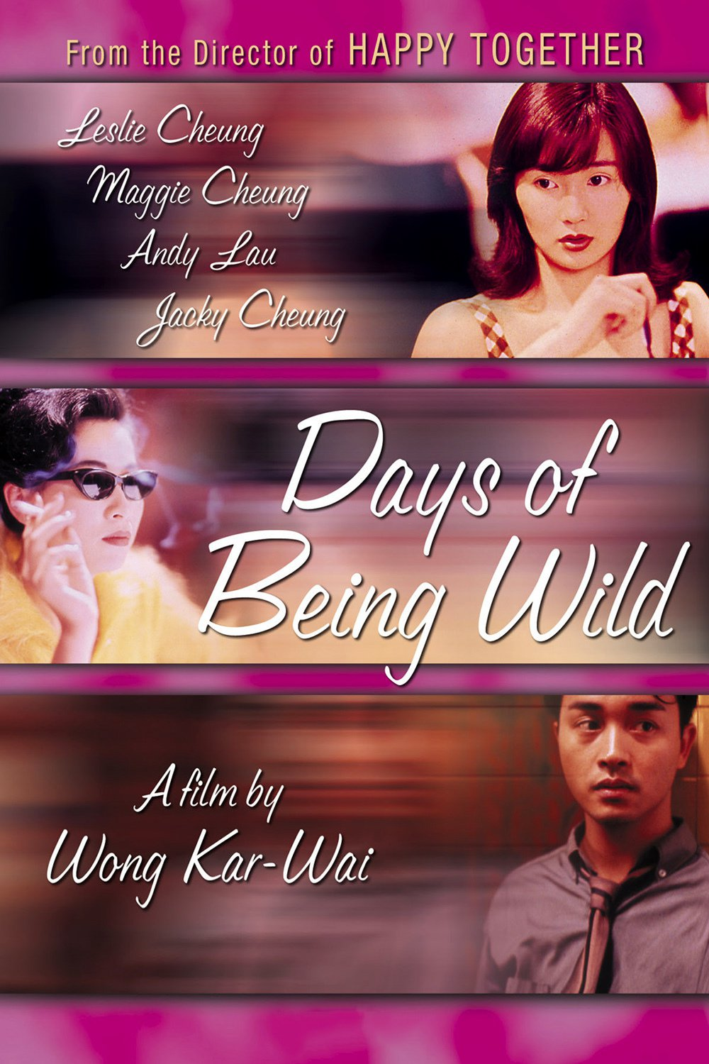 "Poster for the movie ""Days of Being Wild"""