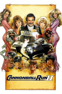 "Poster for the movie ""Cannonball Run II"""