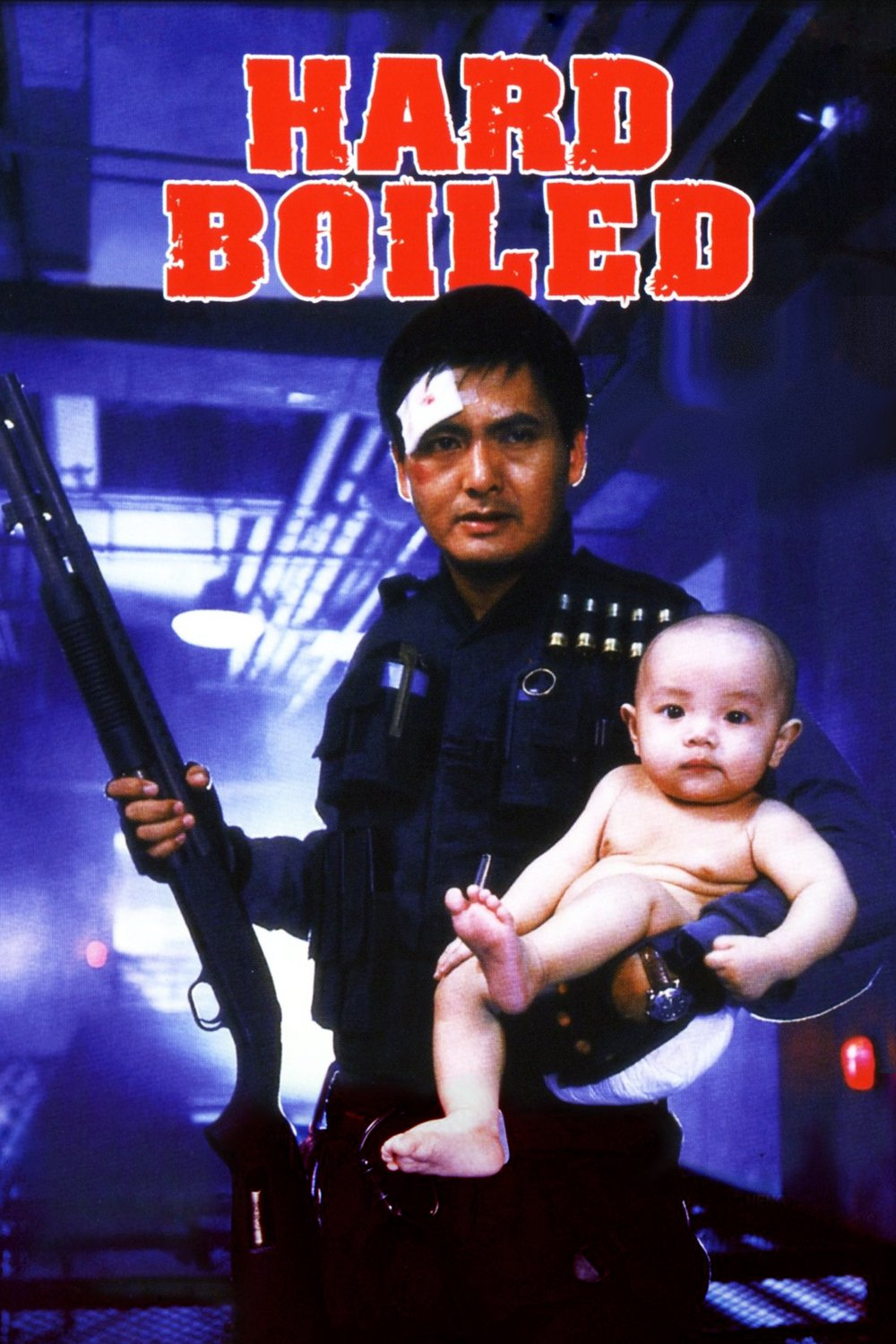 "Poster for the movie ""Hard Boiled"""