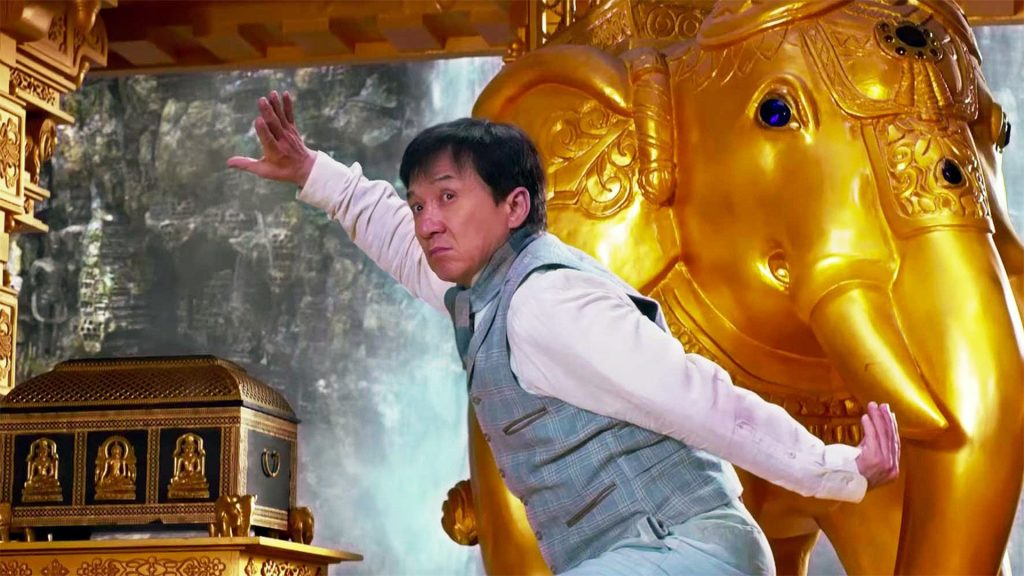 "Image from the movie ""Kung Fu Yoga"""