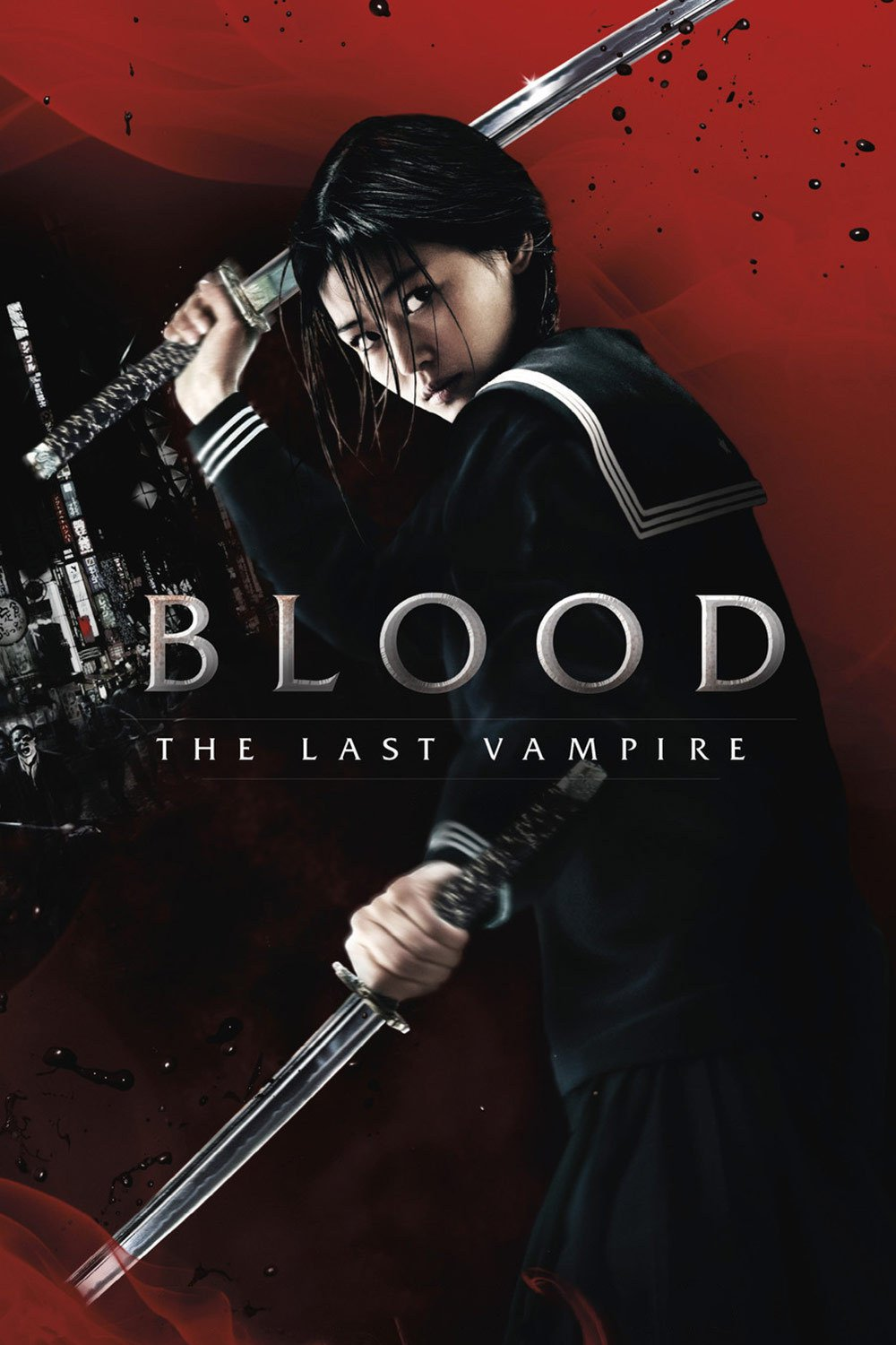 "Poster for the movie ""Blood: The Last Vampire"""