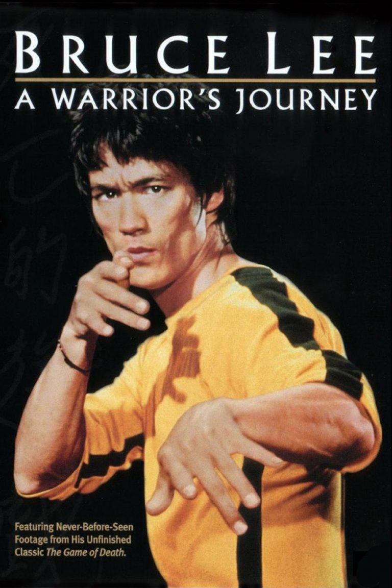 "Poster for the movie ""Bruce Lee: A Warrior's Journey"""