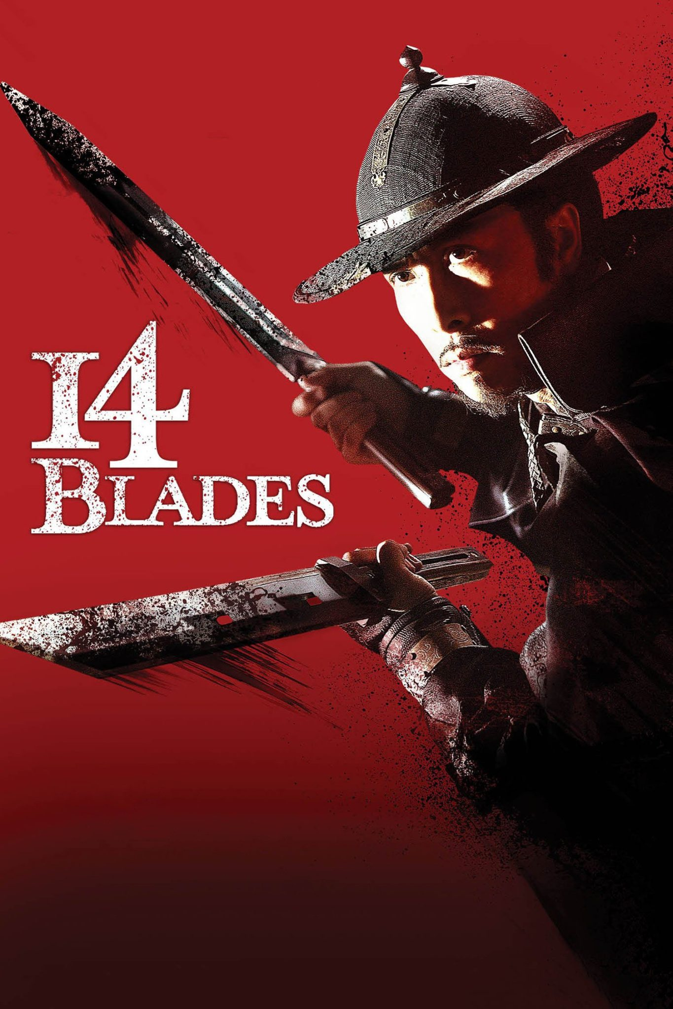 "Poster for the movie ""14 Blades"""