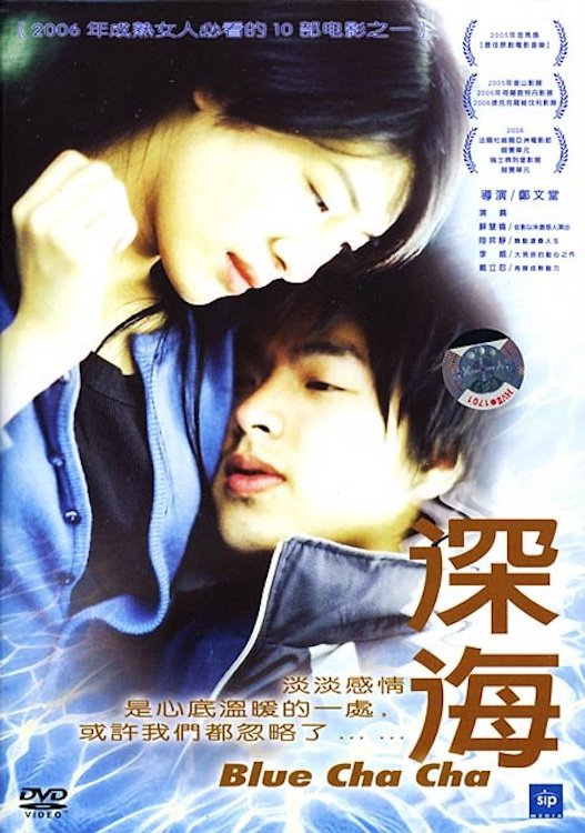 "Poster for the movie ""Blue Cha Cha"""