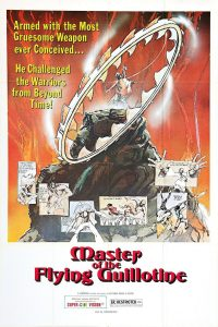 "Poster for the movie ""Master of the Flying Guillotine"""