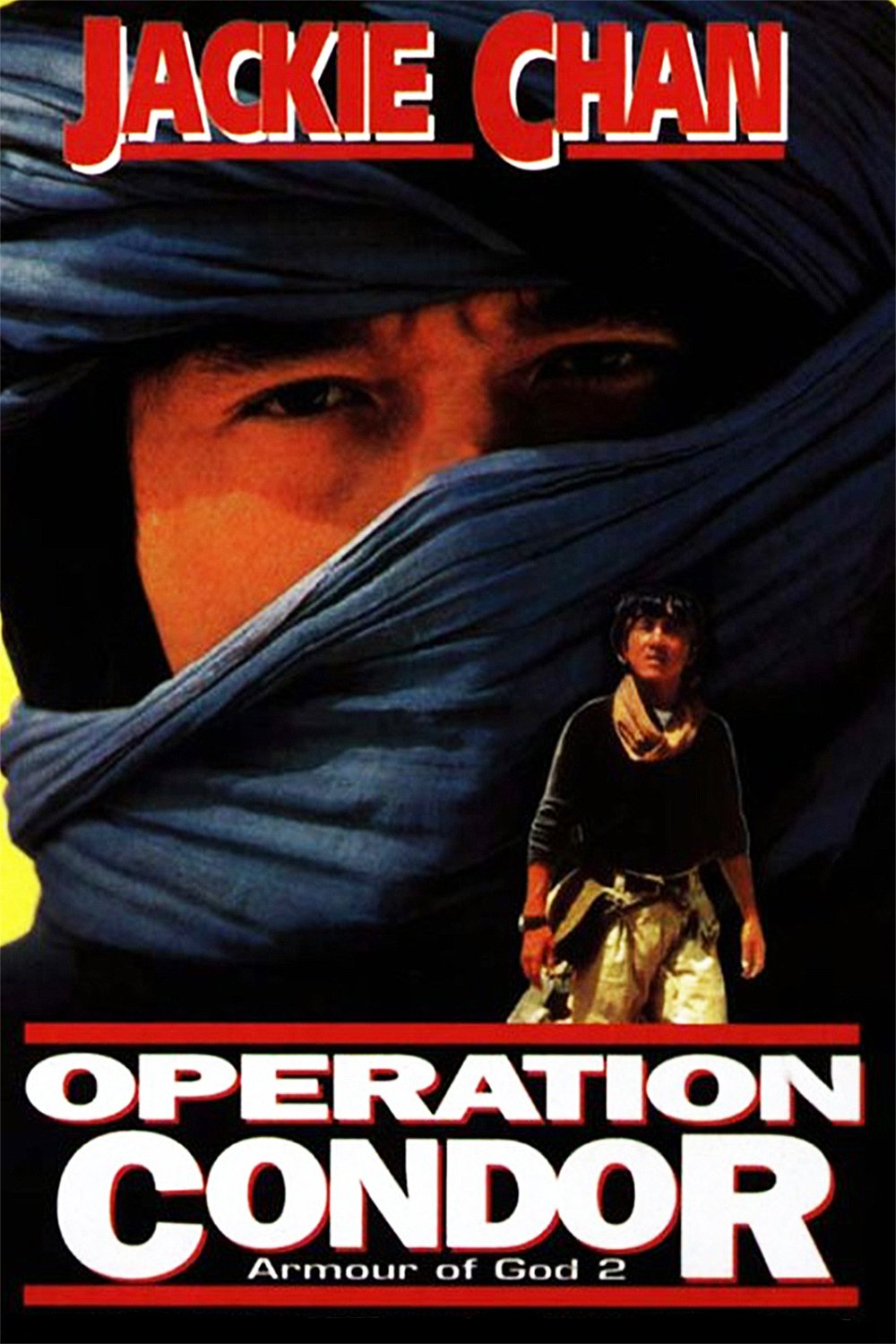 "Poster for the movie ""Armour of God II: Operation Condor"""