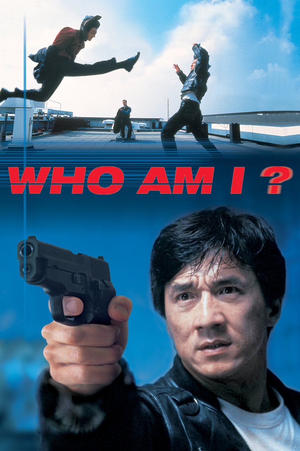 "Poster for the movie ""Who Am I?"""