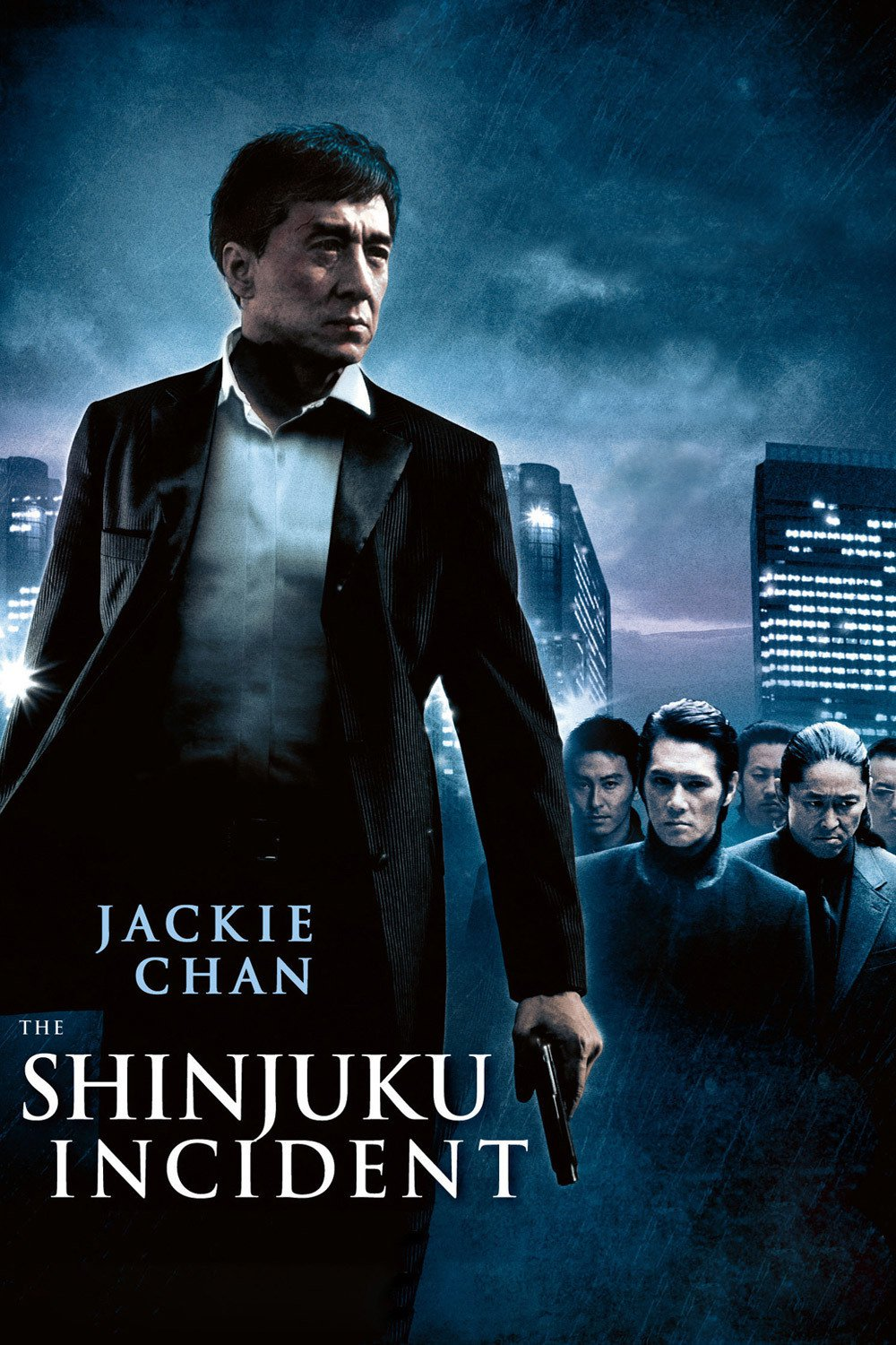 "Poster for the movie ""Shinjuku Incident"""