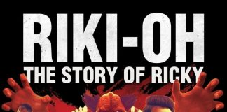 "Poster for the movie ""Riki-Oh: The Story of Ricky"""