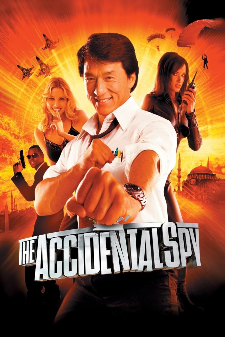 "Poster for the movie ""The Accidental Spy"""