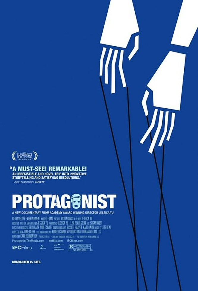 "Poster for the movie ""Protagonist"""