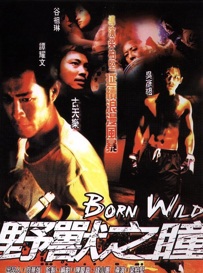 "Poster for the movie ""Born Wild"""