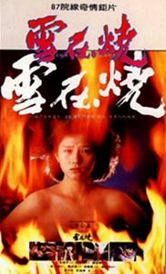 "Poster for the movie ""Burning Snow"""
