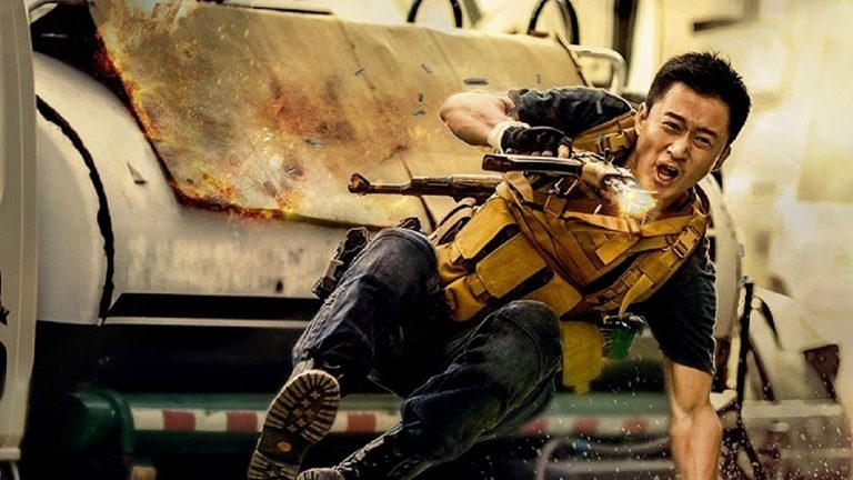 "Image from the movie ""Wolf Warrior 2"""