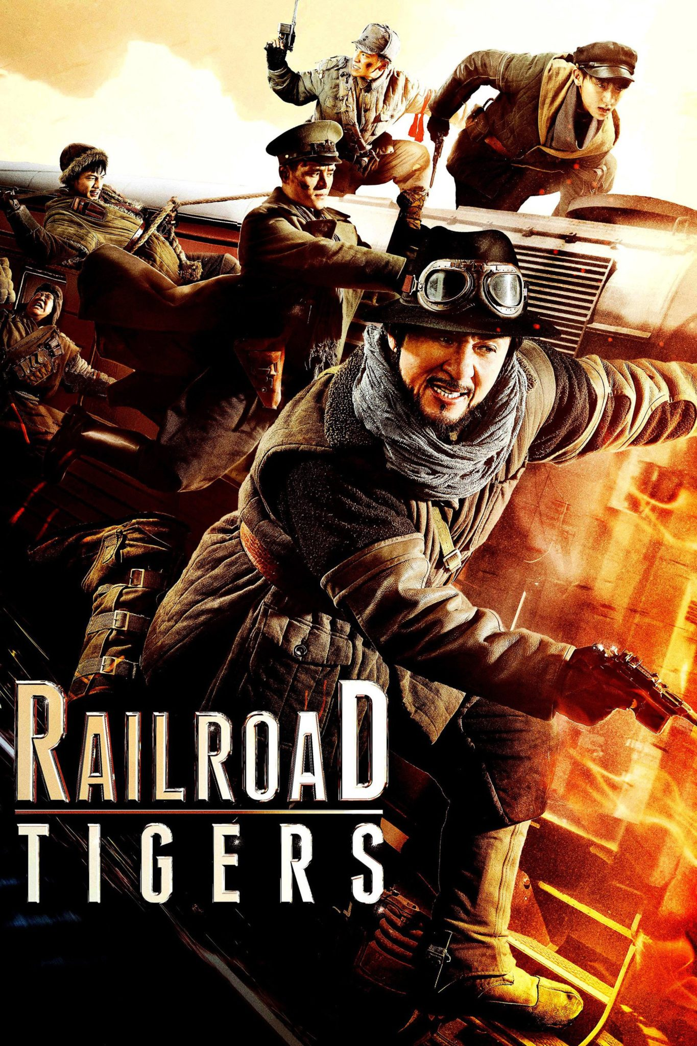 "Poster for the movie ""Railroad Tigers"""