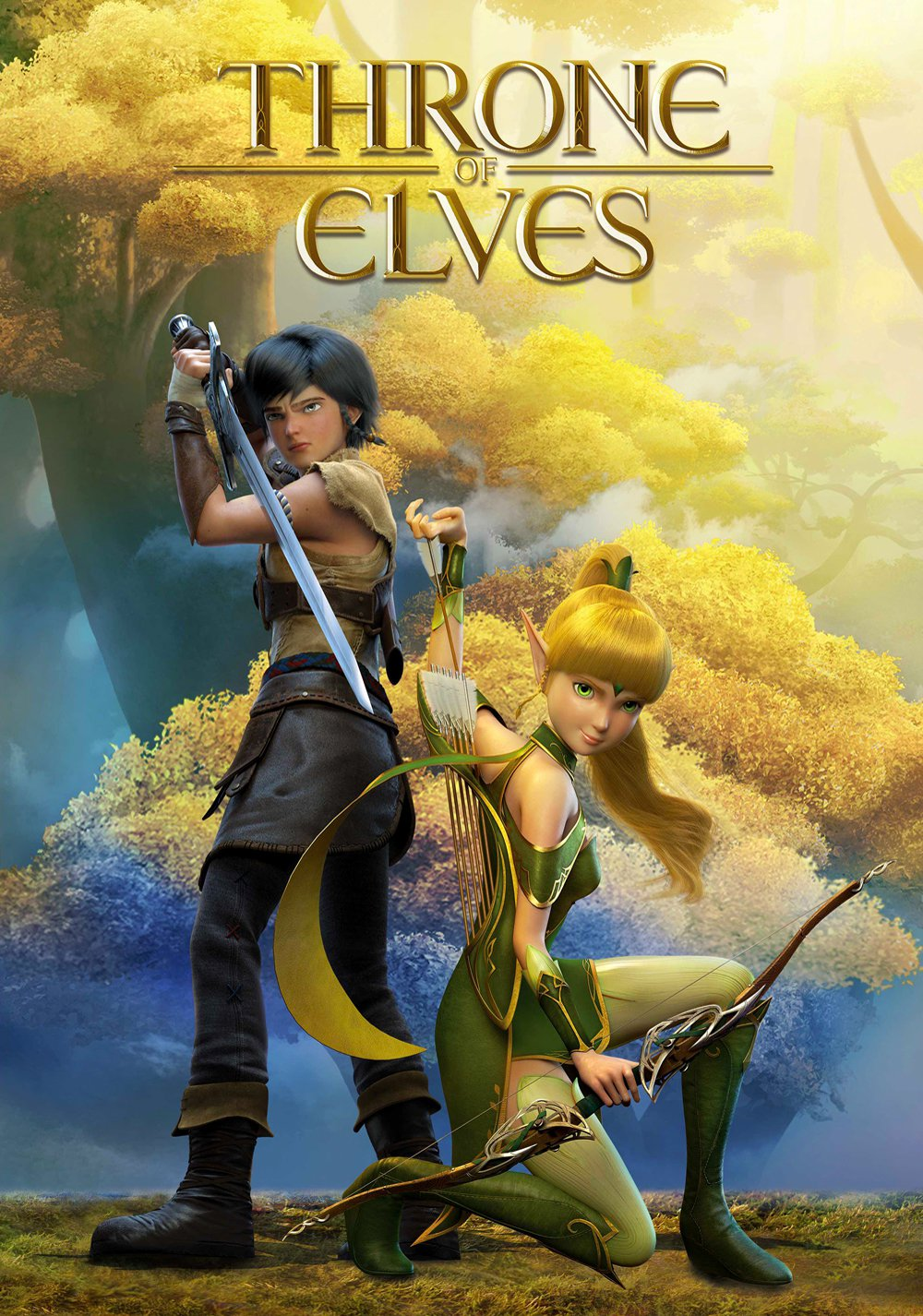 "Poster for the movie ""Throne of Elves"""