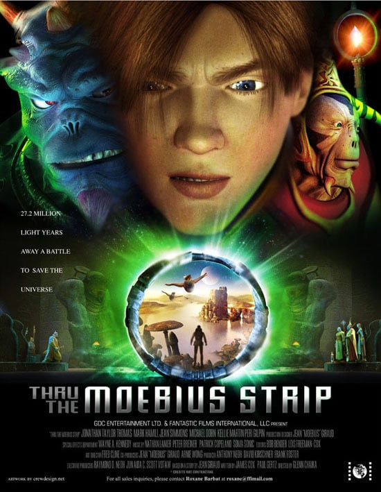 "Poster for the movie ""Thru the Moebius Strip"""